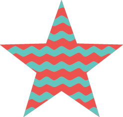 Stripey star